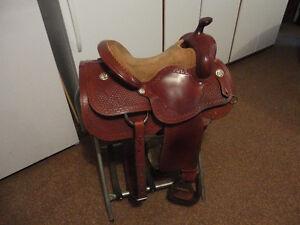 Custom Built 15 1/2'' Reiner Saddle