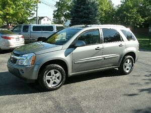 2006 Chevrolet Equinox LT: Sun Roof, Only 132Kms, Drives Great!
