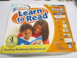 HOOKED ON PHONICS PRE K EDITION LEARN TO READ,NEW