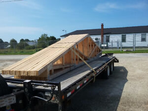 21 roof trusses
