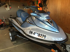 Clean and Fast Seadoo GTX Limited with Trailer
