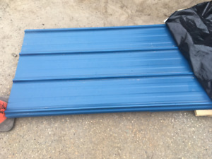 NEW VicWest steel roofing - 3000 sf panels & flat stock