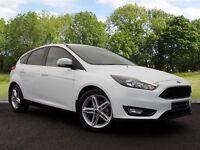 Ford Focus 1.5 TDCi Zetec 5dr (start/stop) (white) 2015