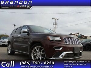 2014 Jeep Grand Cherokee Summit- Leather Seats,GPS, 8.4in Touchs
