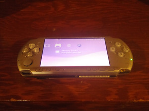 Psp 3001 with charger and 4gb memory stick