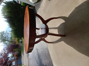 """Unique 36"""" height round table- perfect for stool & high chair"""