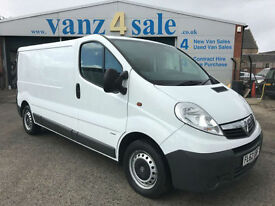 2012 - Vauxhall Vivaro 2.0CDTi ( 90ps ) ( EU V ) 2012MY 2900 LWB