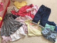 Girls clothes size 12-18 and 18-24 months