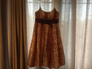 Max and Cleo leopard summer dress