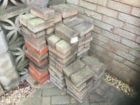 Free to collect paving blocks