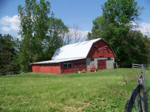 Horse Farm - South Simcoe County -  for Lease