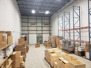 Warehouse and Storage Sublease