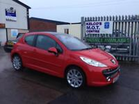 Peugeot 207 1.6HDI 110 GT SPORT HALF LEATHER!!!