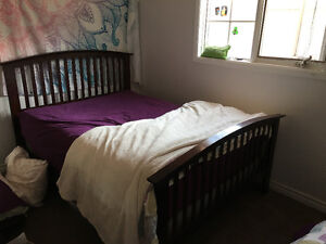 LIGHTLY USED DOUBLE/FULL SIZE BED FRAME