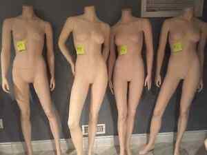 MANNEQUINS Full Body Female Fiberglass