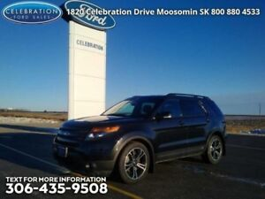 2015 Ford Explorer Sport  Fully Loaded, Local Trade, PST PAID!