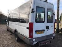 IVECO DAILY 50C13 + LWB + TWIN WHEELS + HIGH ROOF + 17 SEATER MINIBUS