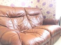 Sofa Set- Luxury Brown