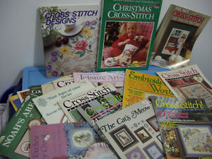 Christmas Cross stitch books,patterns and others Moose Jaw Regina Area image 3