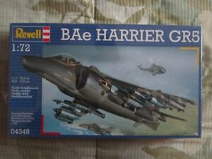 Plastic Model BAe Harrier GR5 1/72 scale