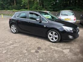 VAUXHALL ASTRA 1.6 VVTI SRI 5DOOR only 54,700miles F.S.H 2010.