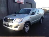 * SOLD * 2013 Toyota Hilux 2.5 D4-D HL2 Double Cab 4x4 Diesel Pickup *97k*