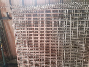 Steel 1/4 new gating or fence