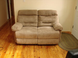 New Price Recliner Sofa and Love Seat