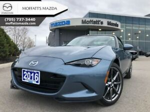 2016 Mazda MX-5 GT  - Navigation -  Sunroof -  Leather Seats - $