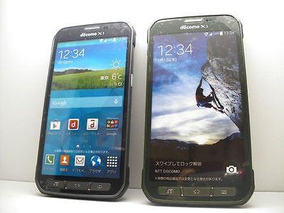 NTT docomo SC-02G GALAXY S5 Active Non-working Display Phone 2 color set