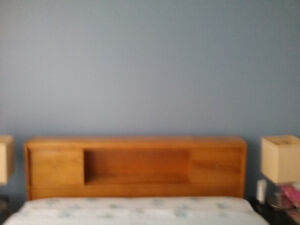 Moving sale      double bed with headboard, footboard, mattress,