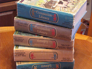 Vintage Companion Library Books