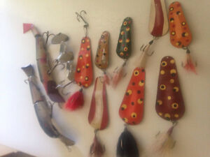 Cash !! Cash Paid for your old fishing lures, tackle, decoys...