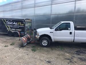 """Ford F-250 with 8"""" Arctic plow  Windsor Region Ontario image 3"""