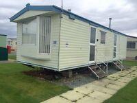 Private sale static caravan for sale ocean edge holiday park Lancaster 12 month season 5* facilities