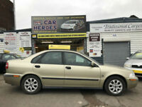 2000 VOLVO S40 2.0 T PETROL 160 BHP 4 DR SALOON ( AA ) WARRANTED INCLUDED