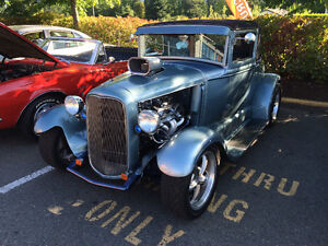 Fabulous 1930 Model A Cabriolet Sport Coupe Hot Rod