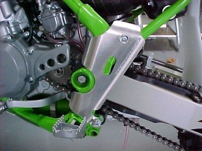 Works Connection Aluminum Frame Guards 15-107 Kawasaki KX80 KX85 KX100 to 2013 ()
