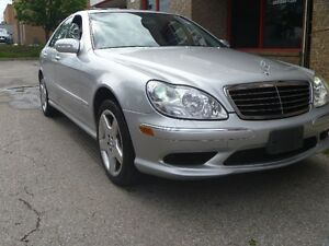 2003 Mercedes-Benz S430 AMG package 4matic