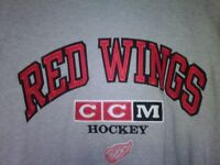 Men`s Detroit Red Wings Sweatshirt, T- Shirt,Suit,Leather Jacket