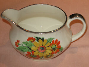 ...A Charming Little English-Made Meakin Creamer....
