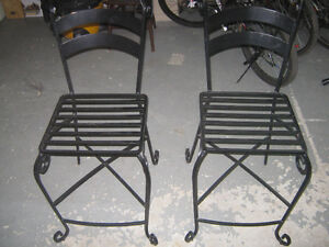 Pier 1 Imports Iron Chairs
