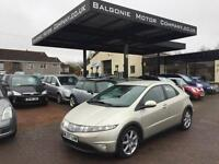 2007 Honda Civic 1.8 i-VTEC EX Hatchback i-Shift 5dr