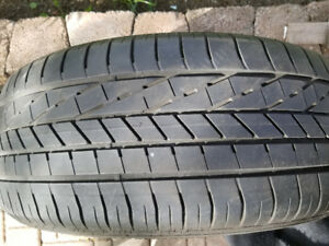 4 Goodyear Excellence High Performance tires 255/45R20