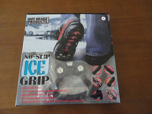 Brand new in box Ice Grip winter boots slip on Size XL London Ontario image 9