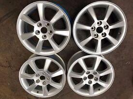 """16"""" Genuine Jaguar X-Type S-Type Alloy Wheels 6.5J **(BARGAIN)** 5x108 ET52.5mm"""