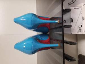 Baby Blue Louboutin Pumps Size 5 - Amazing deal!!