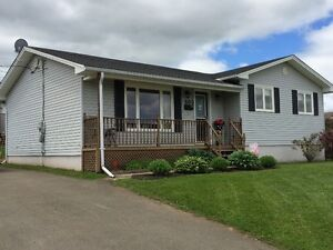 Bungalow in Moncton North with fully finished basement