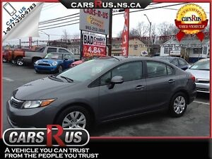 2012 Honda Civic LX We Pay The Tax When You Finance With Us!