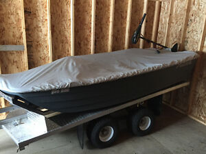 Jon Boat with ATV Trailer
